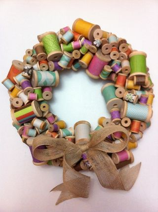 Spoolwreath