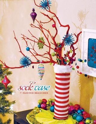 Sock vase