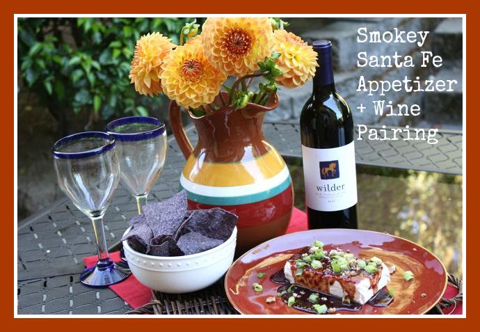 Smokey Santa Fe Appetizer + Wine  - World Market