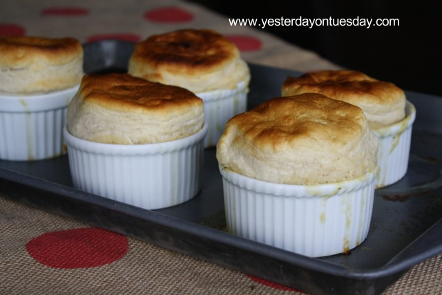 Mini Chicken Pot Pies - Yesterday on Tuesday